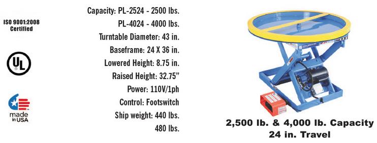 Series-ElectricHydraulic-Palletizer
