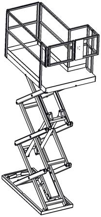 Work Access Lift Diagram