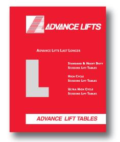 Lift Tables Brochure