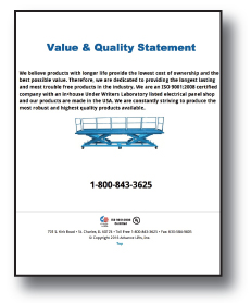 Value And Quality Brochure Icon